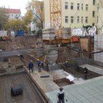 Bewehrungsarbeiten für die Fundamente
