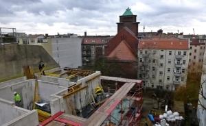2.3.2017: Der Bau ist im 5. Obergeschoß angekommen